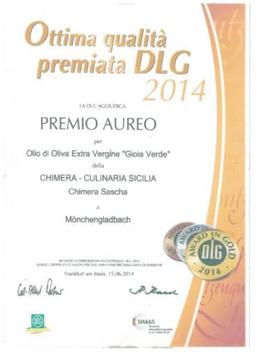 DLG Gold Awards 2014