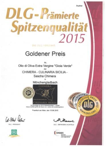 DLG Gold Awards 2015