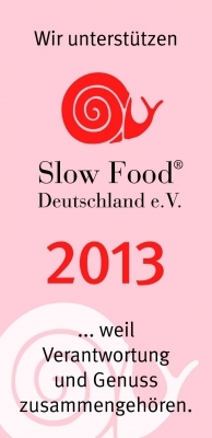 "Riconoscimento ""Slow Food 2013"""