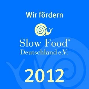 Riconoscimento Slow Food 2012