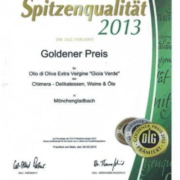 DLG Gold Awards 2013
